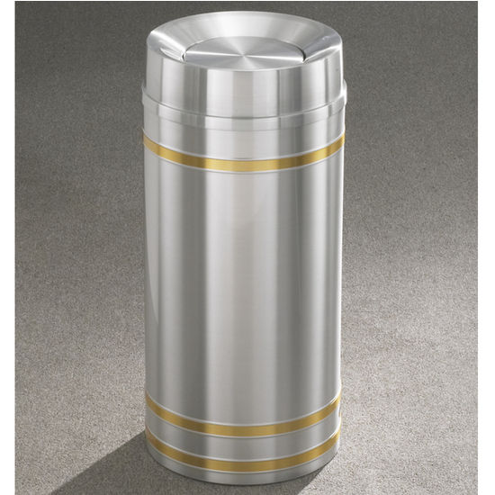 Capri WasteMaster™ Collection Tip Action Top Waste Receptacles
