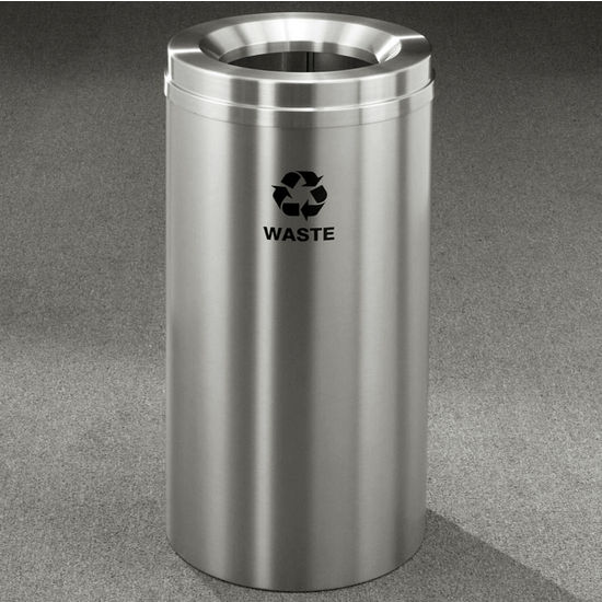 Glaro RecyclePro� Collection 16 Gallon Waste Receptacle