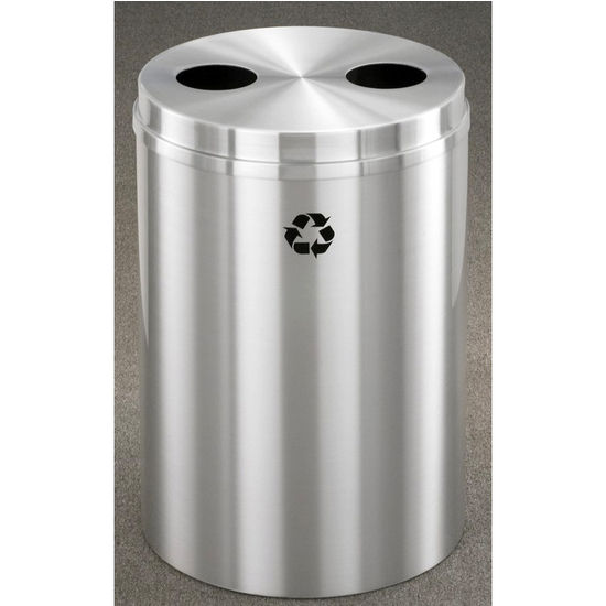 Glaro RecyclePro� Series Dual Purpose Recycling Bins