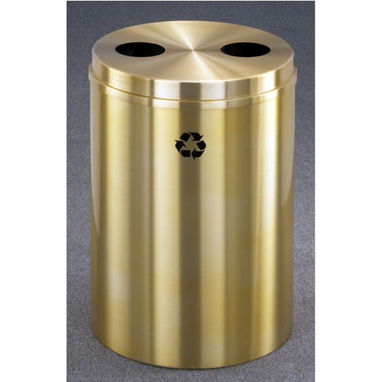 Glaro RecyclePro� Series Dual Purpose Recycling Bin