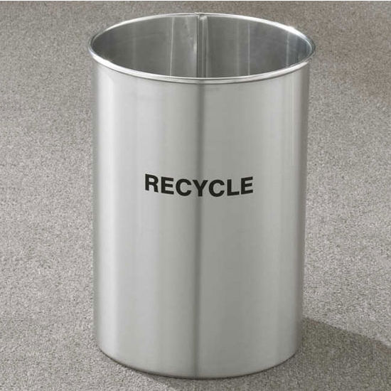 Glaro RecyclePro® 5 Gallon Open Top Waste Basket