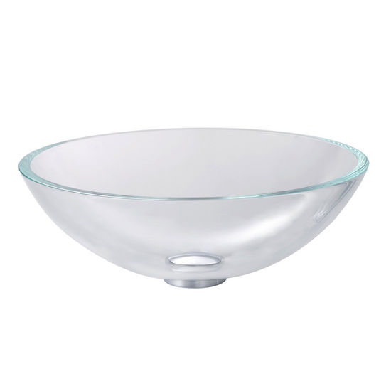 Kraus Crystal Clear Glass Vessel Sink