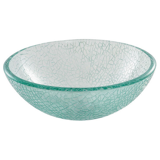 "Kraus 14"" Mosaic Glass Vessel Sink"