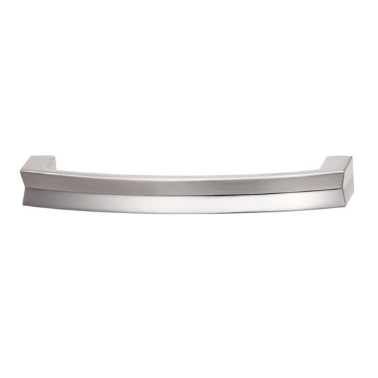 Hafele HA-100.38.601 Modern Curved Handle 106mm (4-1/5'') Wide