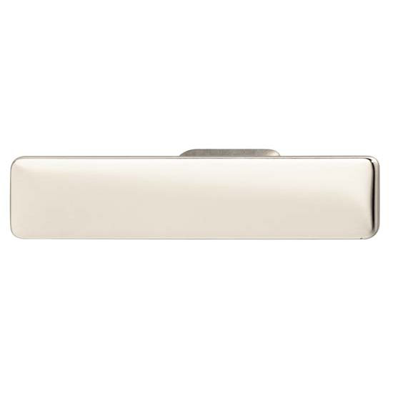 Hafele Bella Italiana Collection Handle in Polished Chrome, 94mm W x 21mm D x 20mm H