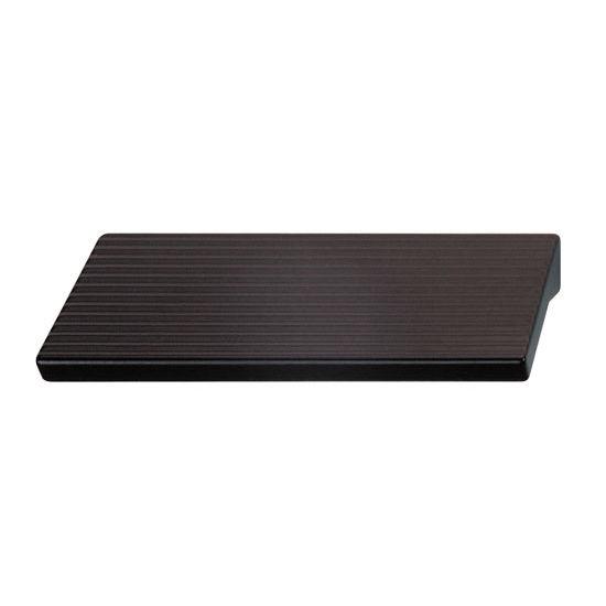 Hafele (3-2/5'' W) Handle in Matt Black, 85mm W x 28mm D x 20mm H