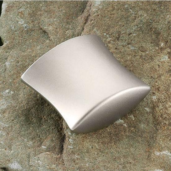 Hafele HA-109.20.600 Modern Curved Knob 12mm (1/2'') Wide