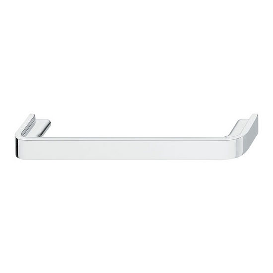 Hafele Nouveau Collection 5-3/4'' W Handle in Polished Chrome, 146mm W x 28mm D x 14mm H