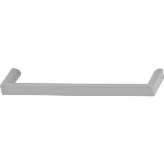 Hafele Antimicrobial Collection 5-2/5'' W Handle in Matt Nickel, 136mm W x 28mm D x 10mm H