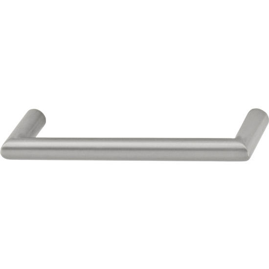 Hafele Antimicrobial Collection 5-1/2'' W Handle in Matt Nickel, 140mm W x 36mm D x 12mm H