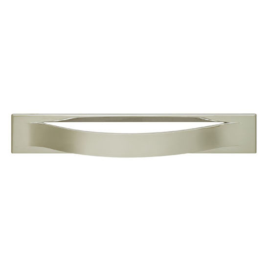 Hafele Modern Curved Handle 124mm (4-15/16'') or 220mm (8-3/4'') Wide