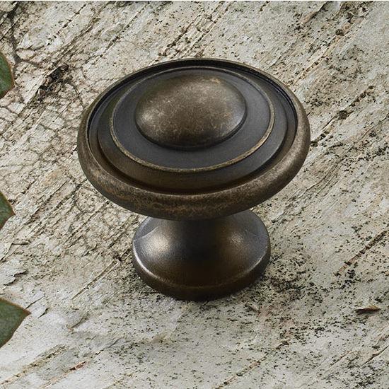 Hafele HA-125.69.100 Traditional Round Knob 30mm (1-1/4'') Diameter