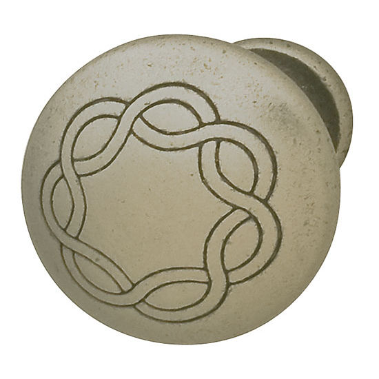 Hafele HA-120.70.921 Traditional Round Knob 30mm (1-1/4'') Diameter