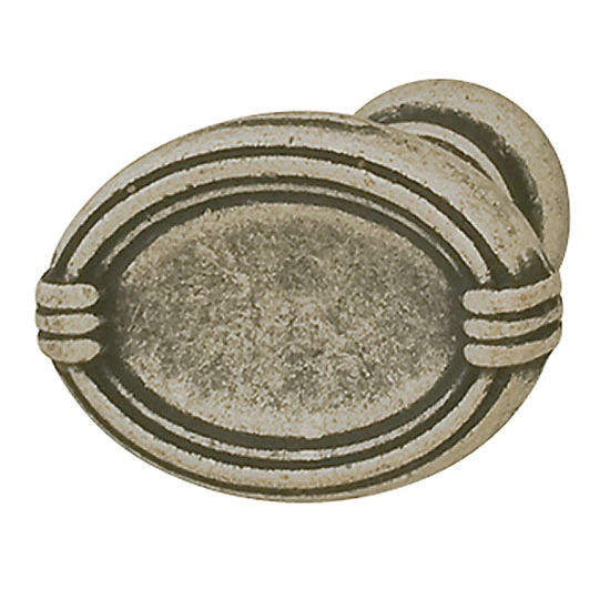 Hafele HA-120.74.900 Traditional Oval Knob 29mm (1-1/4'') Diameter