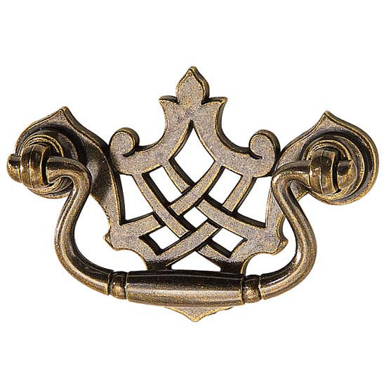 Hafele Cabinet Hardware, Zinc, Antique Bronze Finish
