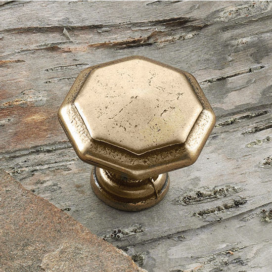 Hafele Traditional Octagon Knob 31mm (1-1/4'') Diameter