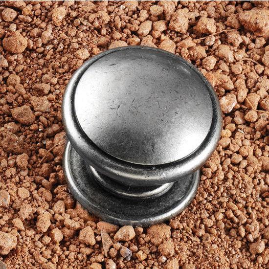 Hafele HA-131.01.903 Traditional Round Knob 30mm (1-1/4'') Diameter