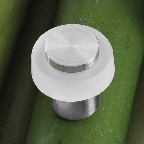 Hafele HA-132.11.460 Crystal/Stainless Steel Knob 29mm (1-1/4'') Diameter