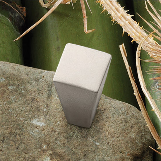 Hafele HA-133.57.600 Modern Square Knob 15mm (5/8'') Wide