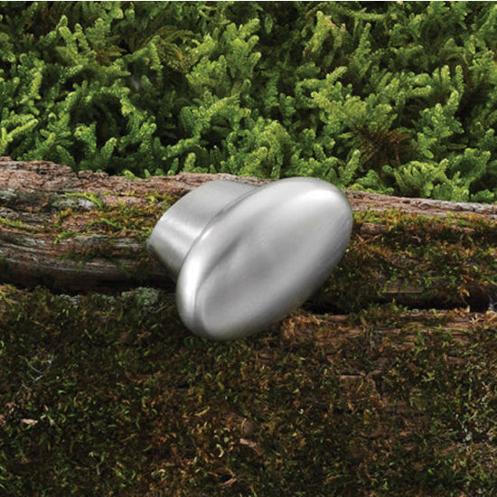 Hafele Modern Oval Knob 35mm (1-3/8'') or 50mm (2'') Wide