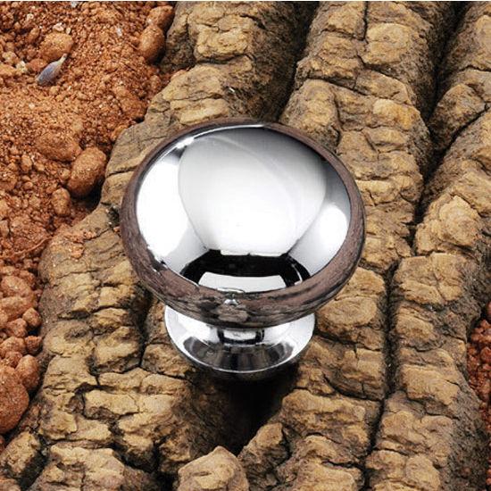 Hafele Steel Mushroom Round Knob 31mm (1-1/4'') Diameter