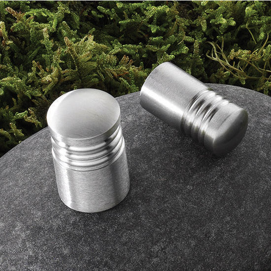 Hafele Stainless Steel Knob, Matt
