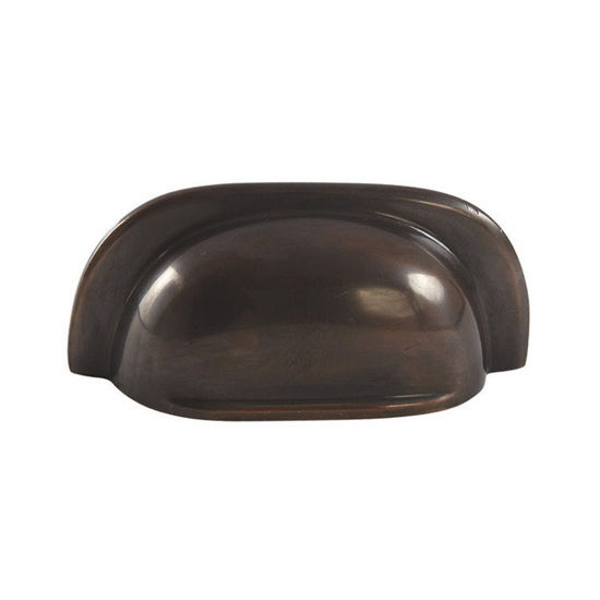 Hafele Mulberry Collection 3'' W Cup Handle in Oil-Rubbed Bronze, 77mm W x 20mm D x 34mm H