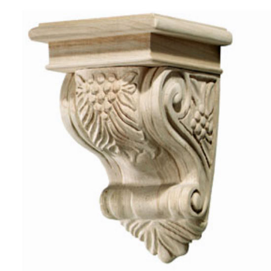 Hafele Bordeaux Collection Corbel, Grape, 5-3/4'' W x 6-1/16'' D x 8-7/8'' H