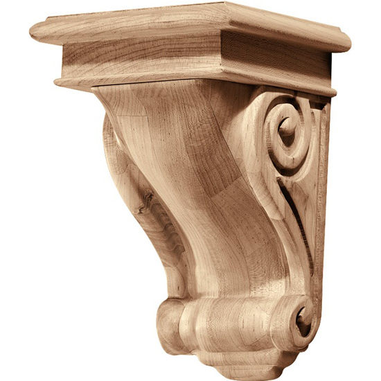 Hafele Scroll Collection Corbel, Rosette