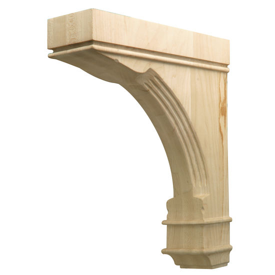 Hafele Regency Collection Hand Carved Corbel Traditional 12'' H