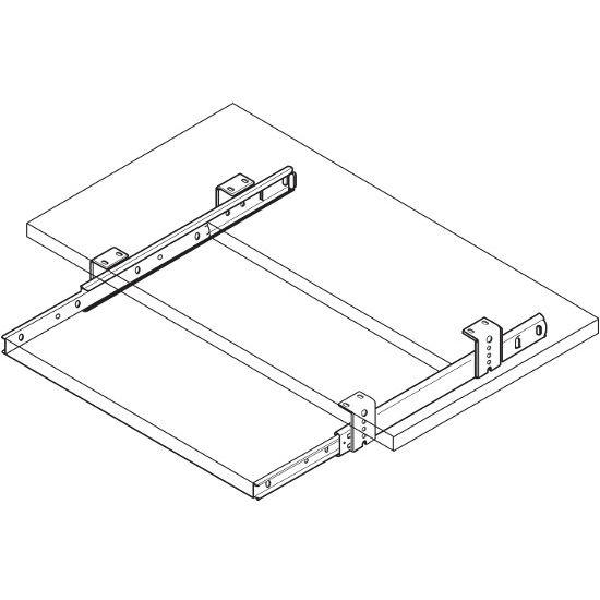 accuride bottom mount drawer slides