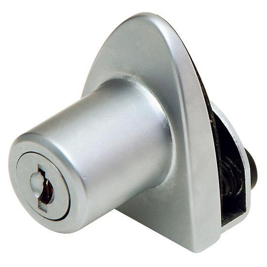 Badge Non Bore Single Glass Door Lock Keyed Alike 40mm 1 916 H