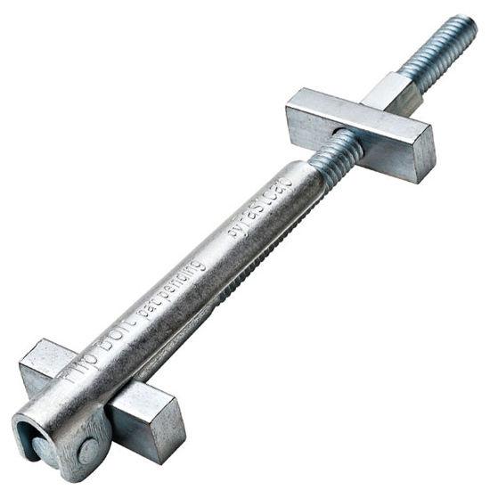 Hafele Flip Bolt Countertop Connector, 89mm (3-1/2'') L, Steel