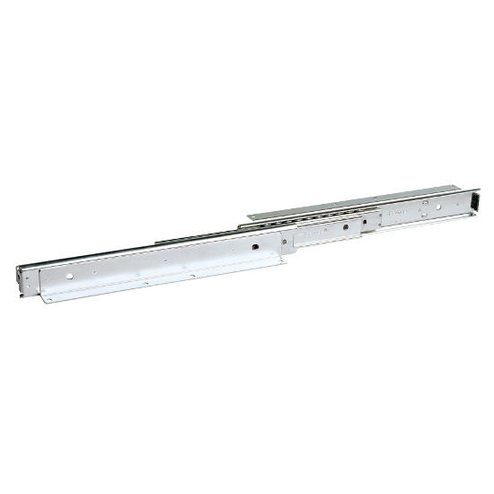 Accuride 301, 7/8'' Overtravel Ball Bearing Base Mounted Drawer Slide 14''-28'' with Detent In
