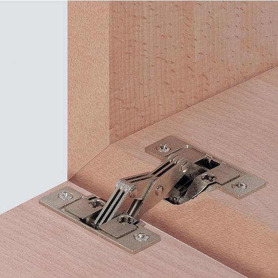 HA 32502702 Miter Flap Cabinet Hinge 15mm 1 20 W In Nickel