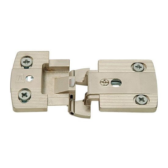 Hafele Aximat® 300 Thin Panel Institutional Hinge 270° 3/8'' Overlay in Matt Nickel