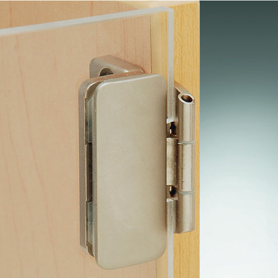 Aximat 300 inset glass to wood door hinge in matt nickel finish view larger image planetlyrics