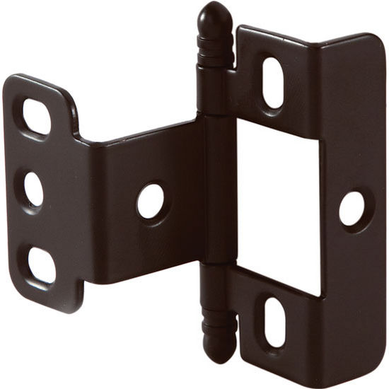 Cabinet Door Full Wrap Non-Mortised Decorative Butt Hinge with ...