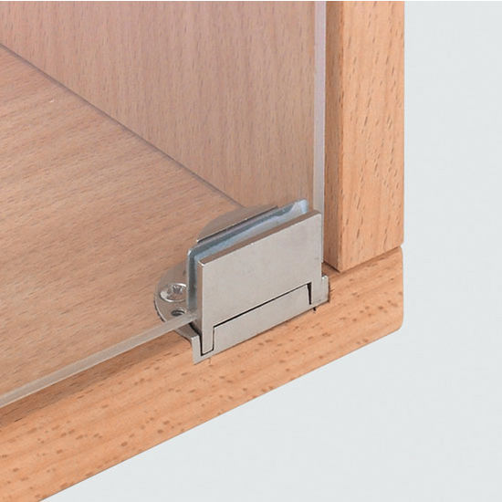 Clarior glass door hinge mm  w ° opening