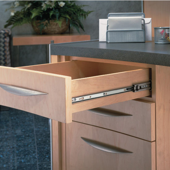 Accuride Full Extension Side Mounted Drawer Slide With