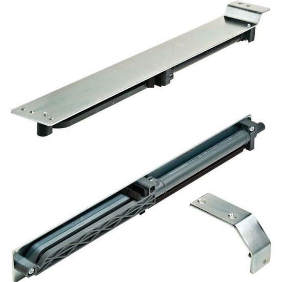 """Pull Out Pantry Hardware: Hafele ''EKU-Forte"""" Top/Bottom Pull-Out Cabinet Slides For"""