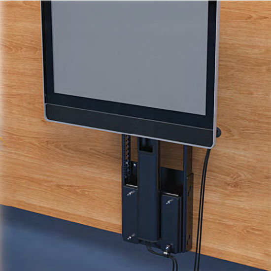 Mechanical Tv Lift Hardware : Mechanical tv monitor lift push to operate accuride