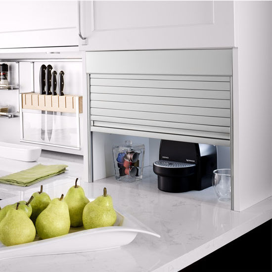 Milano Appliance Garage Kit Aluminum Roller Shutters By Hafele