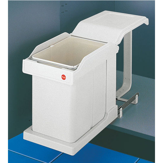 Hafele Easy Cargo 20 Quot Pull Out Single Waste Bin With Lid