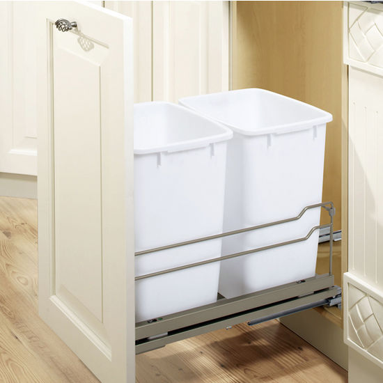 Double Pull-Out Waste Bin Frame