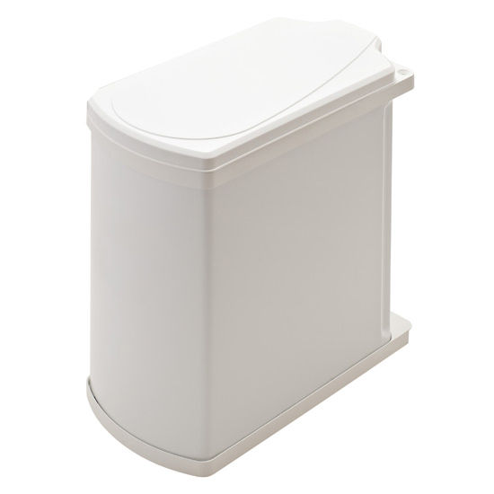 Hafele Swing Out Waste Bin For Vanity Or Kitchen Cabinet 18 Liters 4 75 Gallon