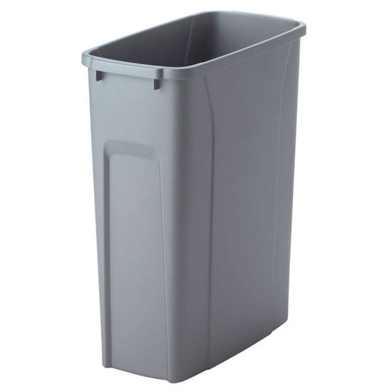 Trash Cans Replacement Waste Bins In Frosted Nickel Or