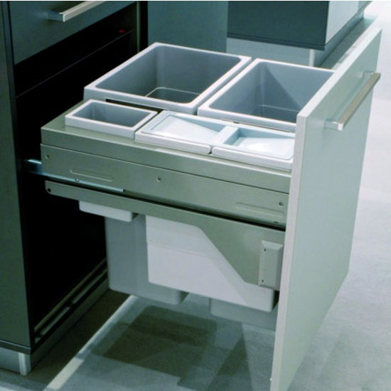 Hafele Euro Cargo 60 Quot Waste Bin Pull Out With Included