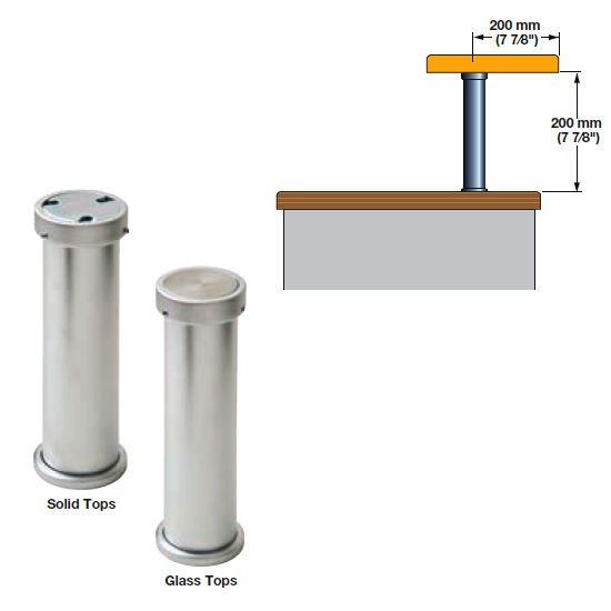 Cabinet Storage Countertop 90 176 Bar Supports For Solid
