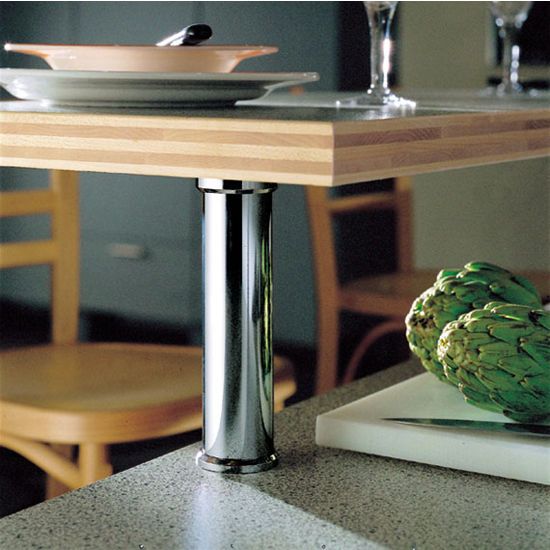 Cabinet Storage Countertop 90 176 Bar Supports For Solid Tops By Hafele Kitchensource Com